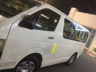 Toyota bus model 2008